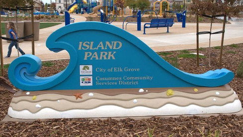 UPC Parks - Wave Sign