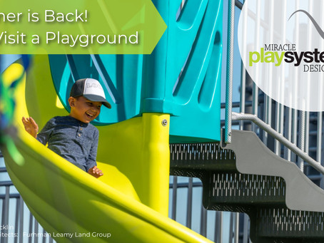Summer is Back!  Let's Visit a Playground!