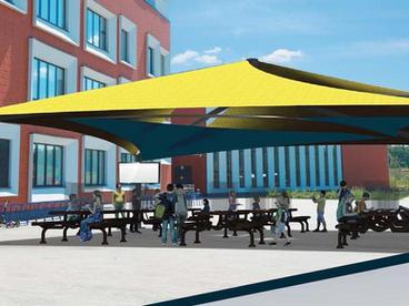 USA Shade Outdoor Classroom Solutions