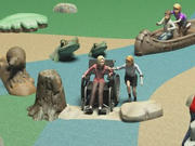 UPC Parks ADA Ramp Rock