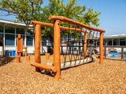 Norna Playgrounds Robinia Rope Bridge
