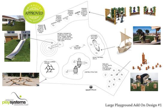 Large Playground Add On Design #1