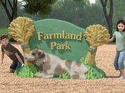 UPC Parks - Farmland Sign