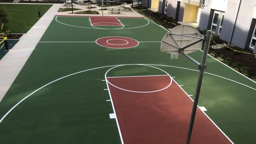 Basketball Surfacing