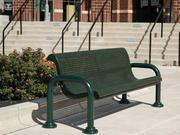 Wabash Valley Contemporary Bench