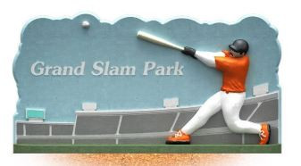 Grand Slam Park Sign