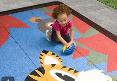 No Fault Playground Tiles