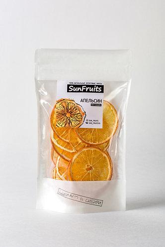 """Чипсы фруктовые """"San Fruits"""" Апельсин"""