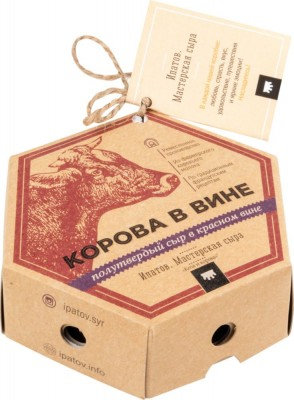 Корова в вине Ипатов сыр 125 гр