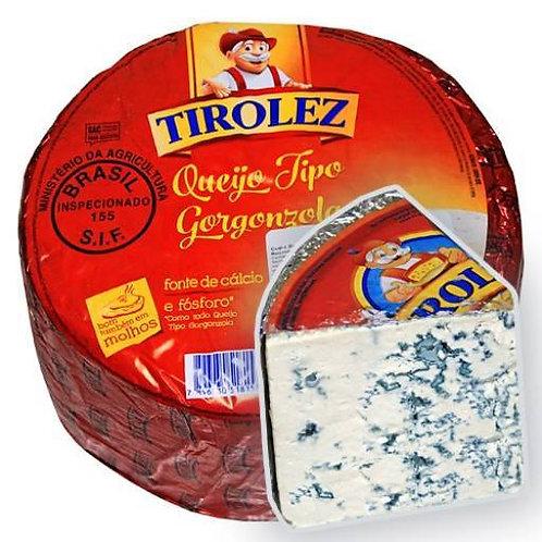 Сыр Gorgonzola in wedges, Tirolez, Бразилия, 100 гр