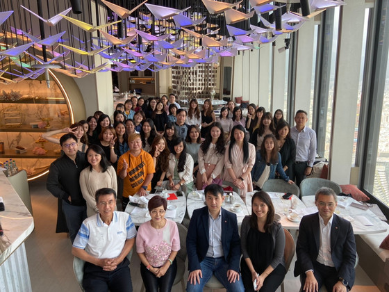 The whole Ecovis Taiwan Team is gathered to celebrate the Autumn holidays !