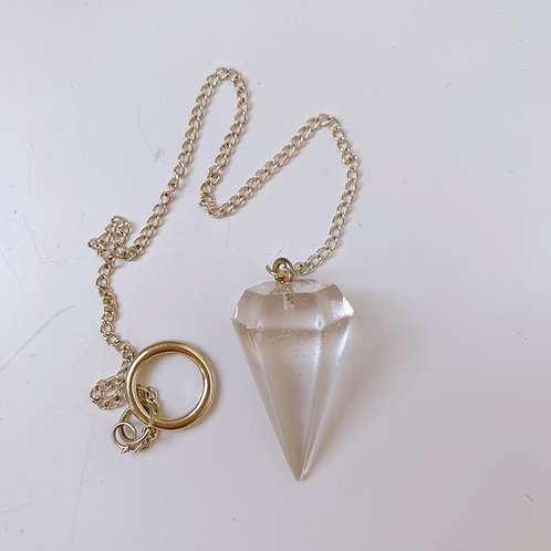Pendulum Clear Quartz