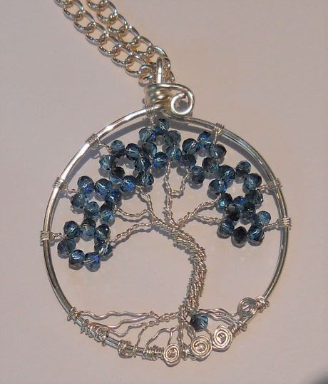 Item #030 Tree of life pendant