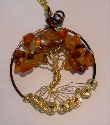 Item #004 Tree of life pendant