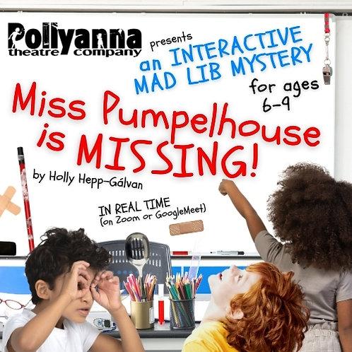 Miss Pumpelhouse Is Missing