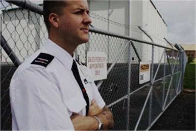 Unarmed Static Guards