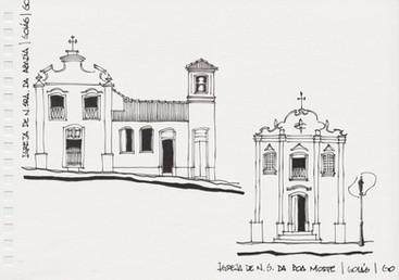 Igreja de Nossa Senhora da Abadia e Igreja de Nossa Senhora da Boa Morte, Goiás Antigo, GO. 2006