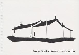 Igreja de São João Batista, Trancoso, BA. 2012