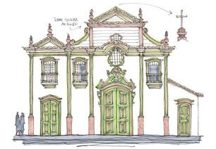 Igreja do Carmo, Diamantina, MG. 2103