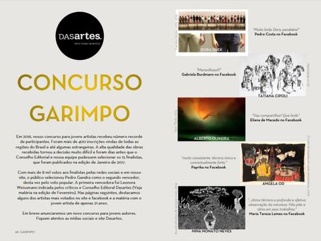 Concurso Garimpo - Resultado, 2017