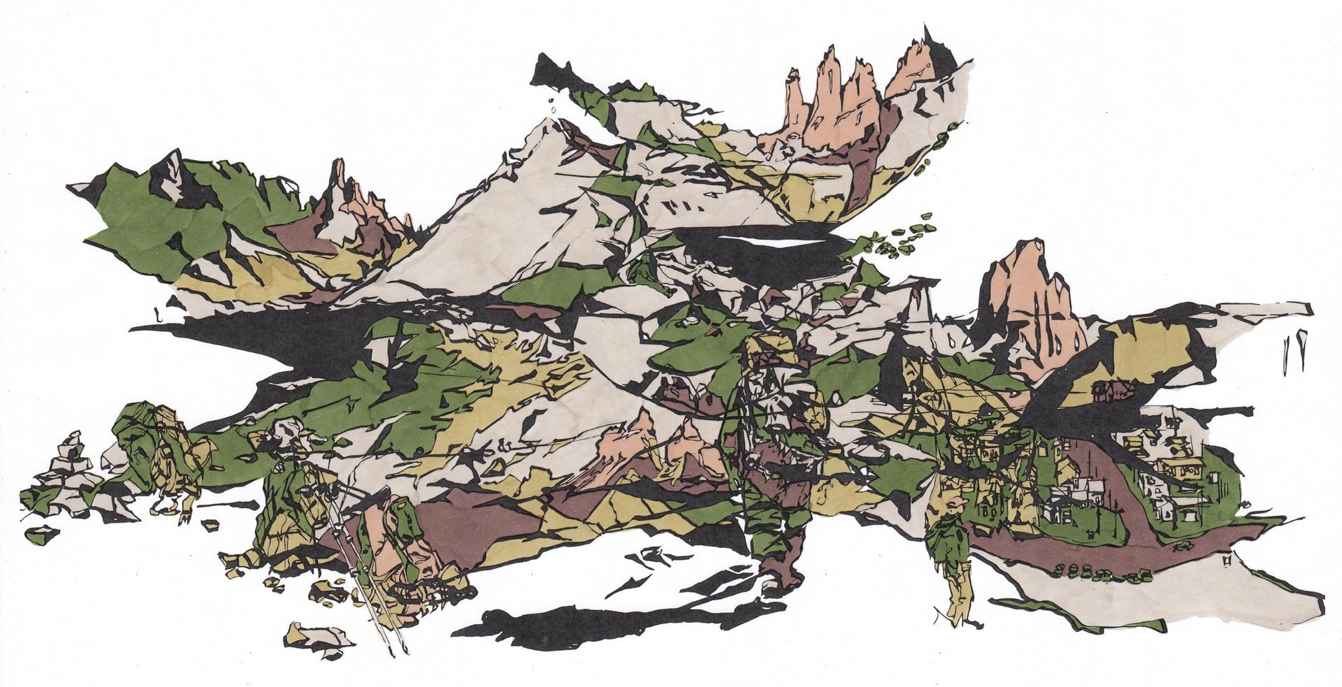 Patagônia n° 02 (Torres Del Paine e El Chalten) , 2016