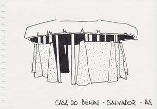 Casa do Benin, Salvador, BA, 2012