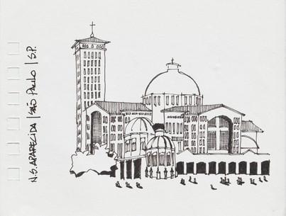 Basílica de N. Sra. da Aparecida, Aparecida, SP. 2011