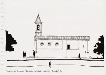 Igreja do Rosário (fachada lateral direita), Iguape, SP. 2012