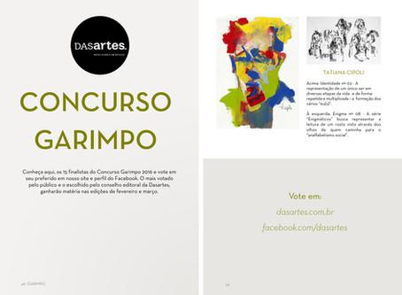 Concurso Garimpo - Votação, 2017