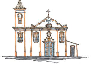 Igreja de São Francisco de Assis, Diamantina, MG. 2013