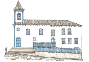 Igreja das Mercês, Diamantina, MG. 2013