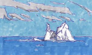 Iceberg, Antártica, 2015