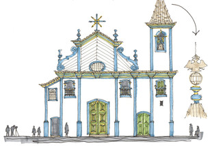 Igreja do Rosário, Diamantina, MG. 2013