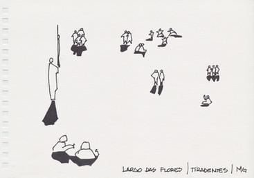 Largo das Flores, Tiradentes, MG. 2006