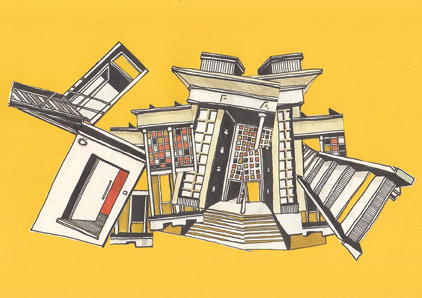Arquitetura desconstruida #01, 2015