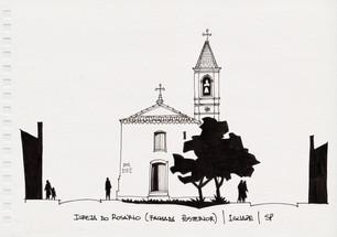 Igreja do Rosário (fachada posterior), Iguape, SP. 2012