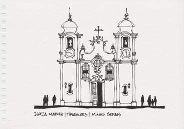 Igreja Matriz, Tiradentes, MG. 2006