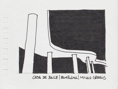 Casa de Baile da Pampulha, Belo Horizonte, MG. 2011