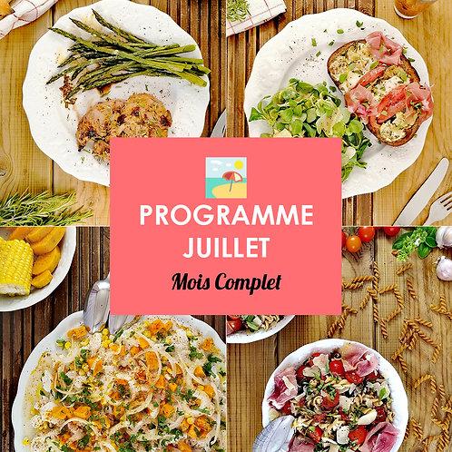 Programme Complet Juillet