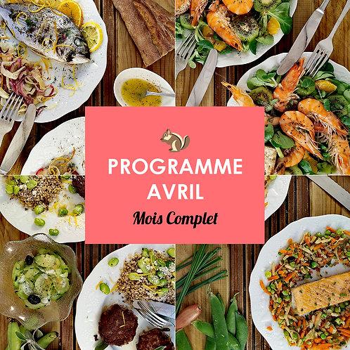 Programme Complet Avril