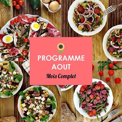 Programme Complet Aout