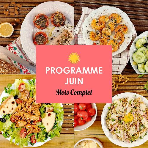Programme Complet Juin