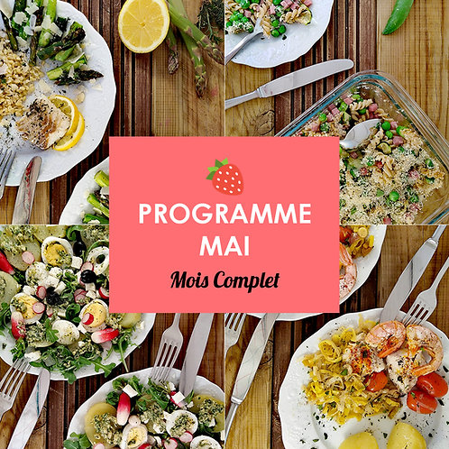 Programme Complet Mai