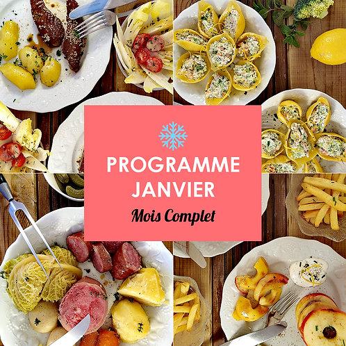 Programme Complet Janvier
