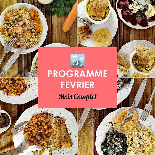 Programme Complet Février