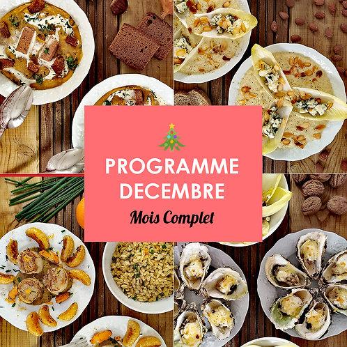 Programme Complet Décembre