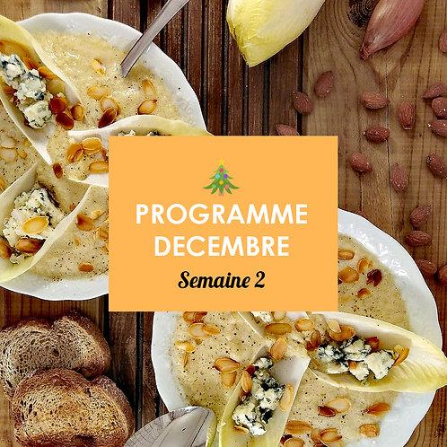 Programme Décembre - Semaine 2