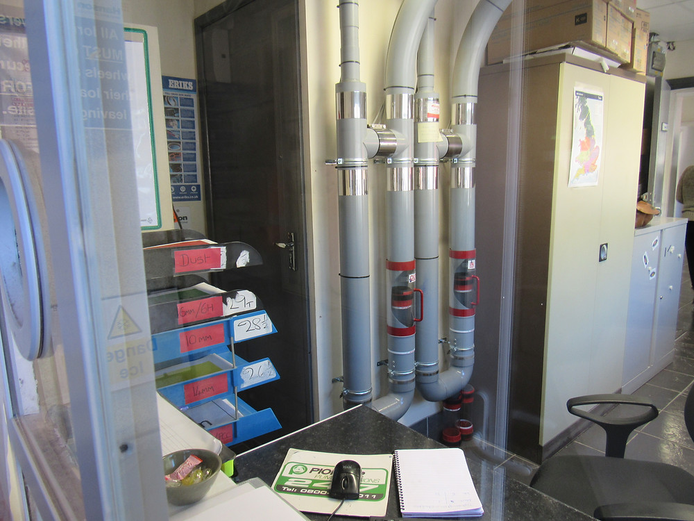 AEROCOM - Enhanced Gatehouse delivery Heal and Safety using Pneumatic Tube Systems