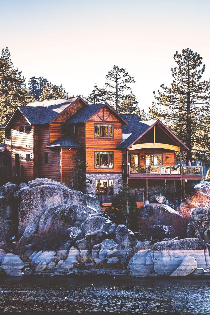 Cabin on Big Bear Lake