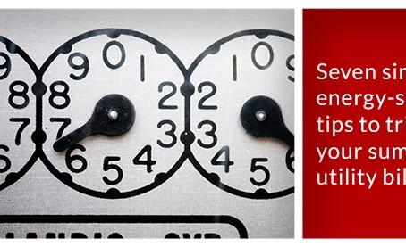 Seven Simple Energy - Saving Tips